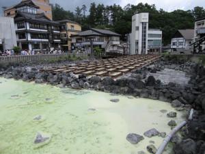 【画像】草津温泉 湯畑