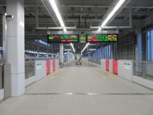 【画像】北陸新幹線 上越妙高駅ホーム