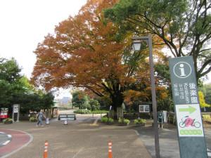 【画像】岡山後楽園入口付近