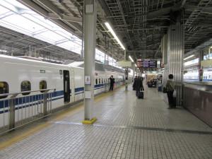 【画像】新大阪駅 新幹線ホーム