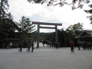 【画像】伊勢神宮内宮入口(宇治橋前)
