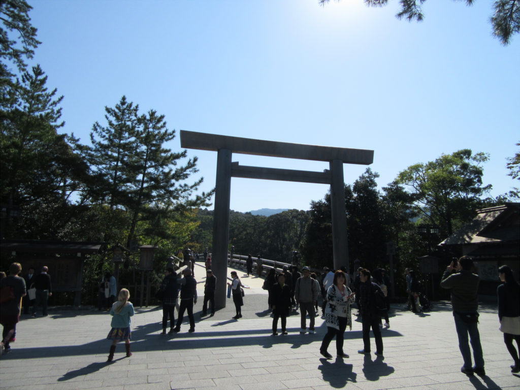 【画像】皇大神宮(内宮) 宇治橋前