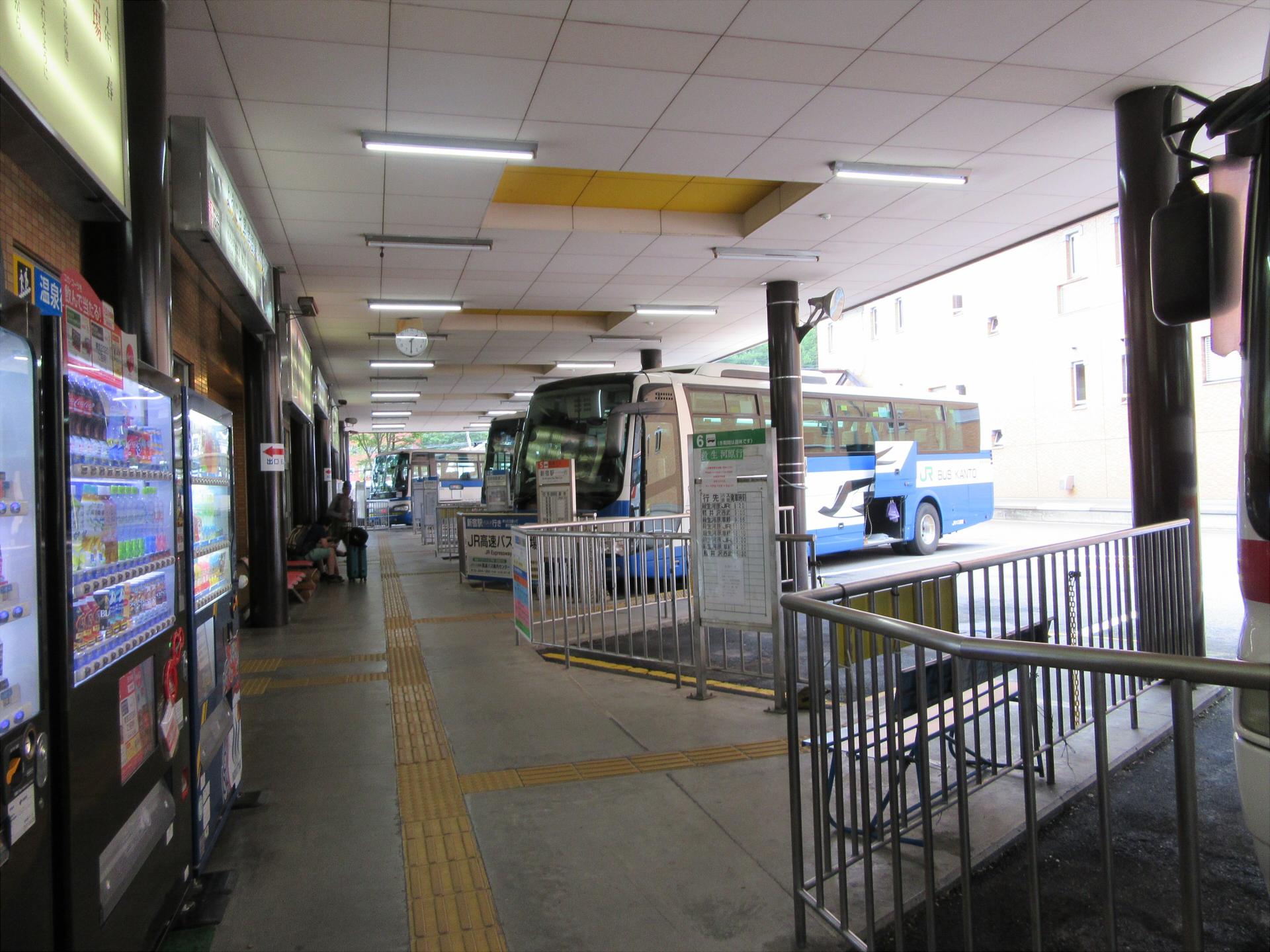 【画像】草津温泉バスターミナル バス乗り場