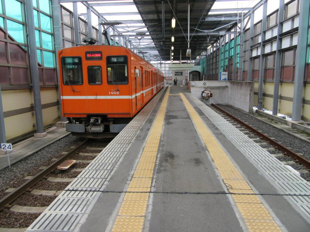 【画像】電鉄出雲市駅ホーム
