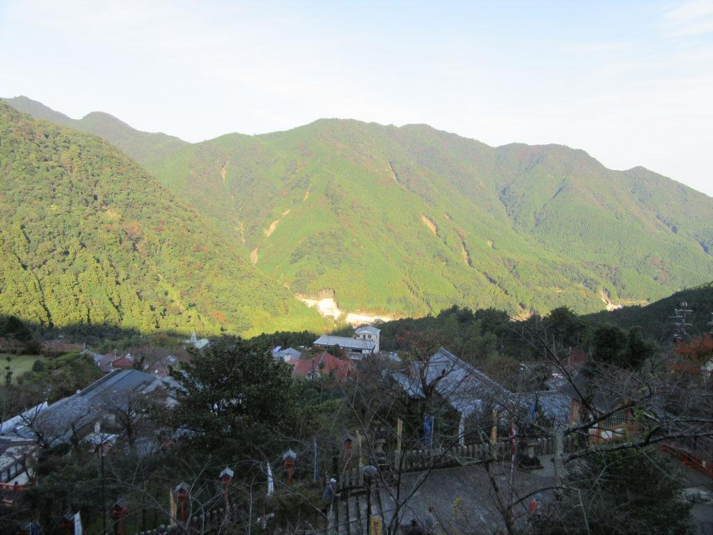 【画像】那智大社境内からの眺め