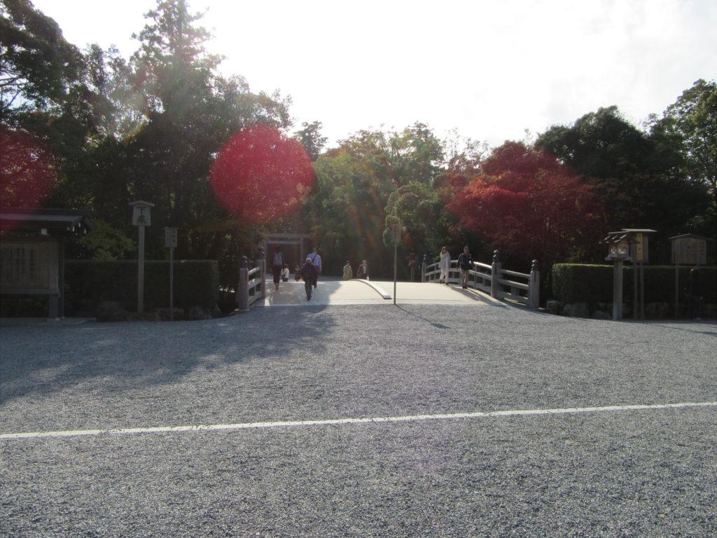 【画像】伊勢神宮外宮入口(火除橋前)