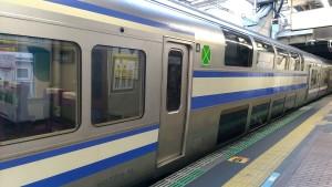 【画像】普通列車グリーン車(総武線快速)