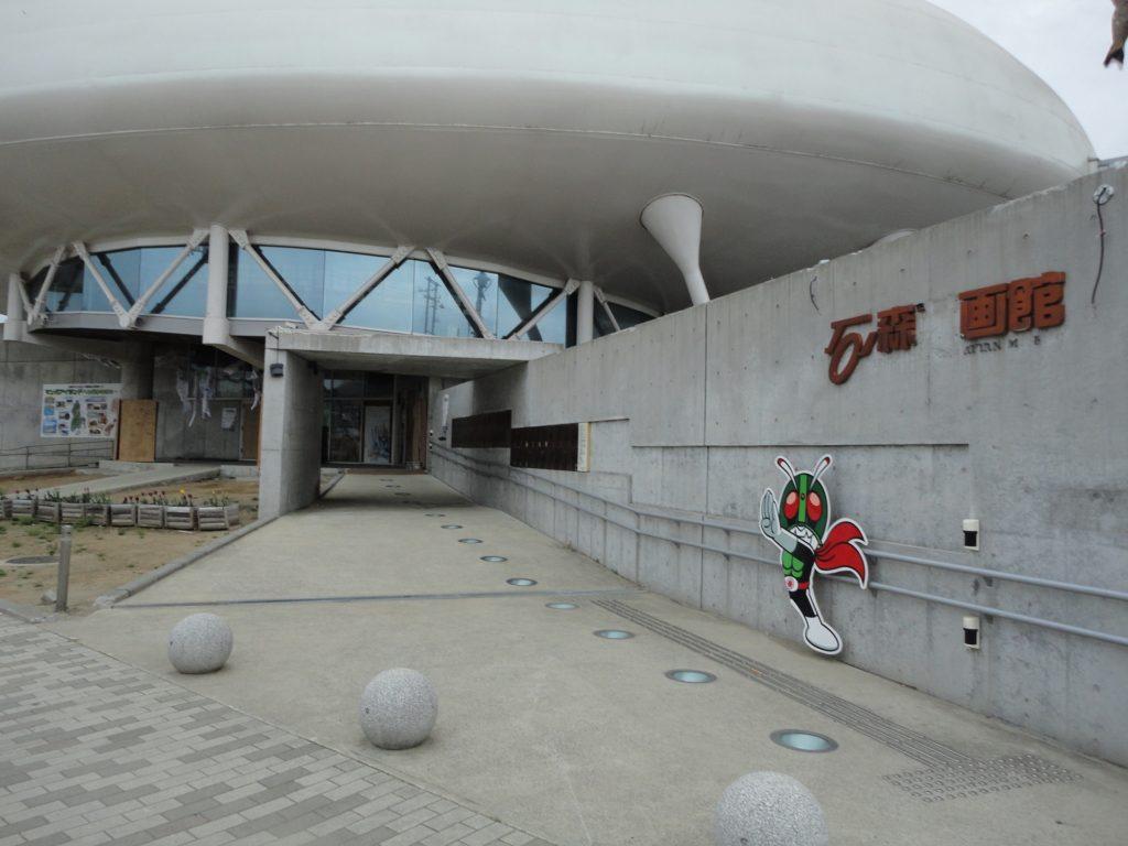【画像】休館中の石ノ森萬画館(2012年5月訪問時)