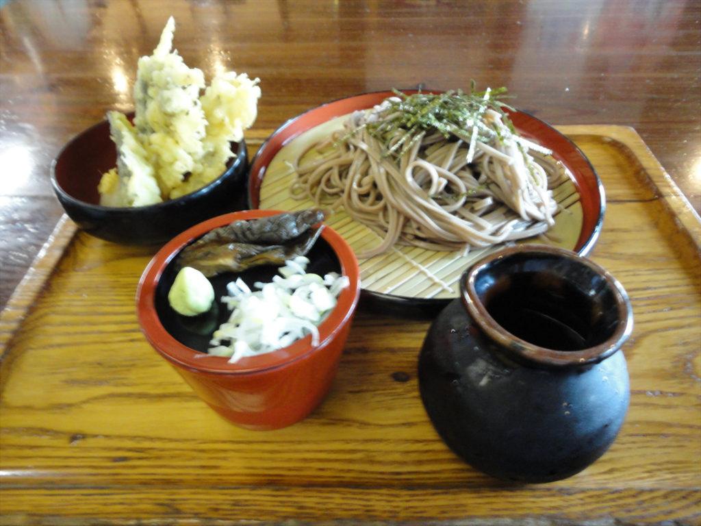 【画像】伝承園の天ぷらそば