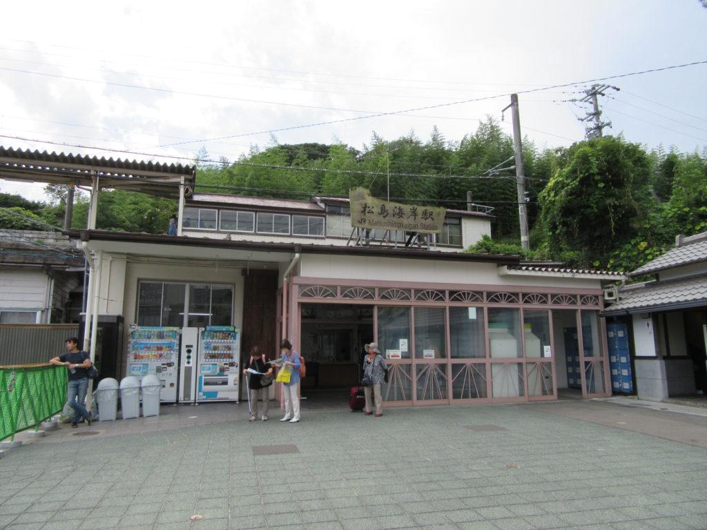 【画像】JR仙石線 松島海岸駅