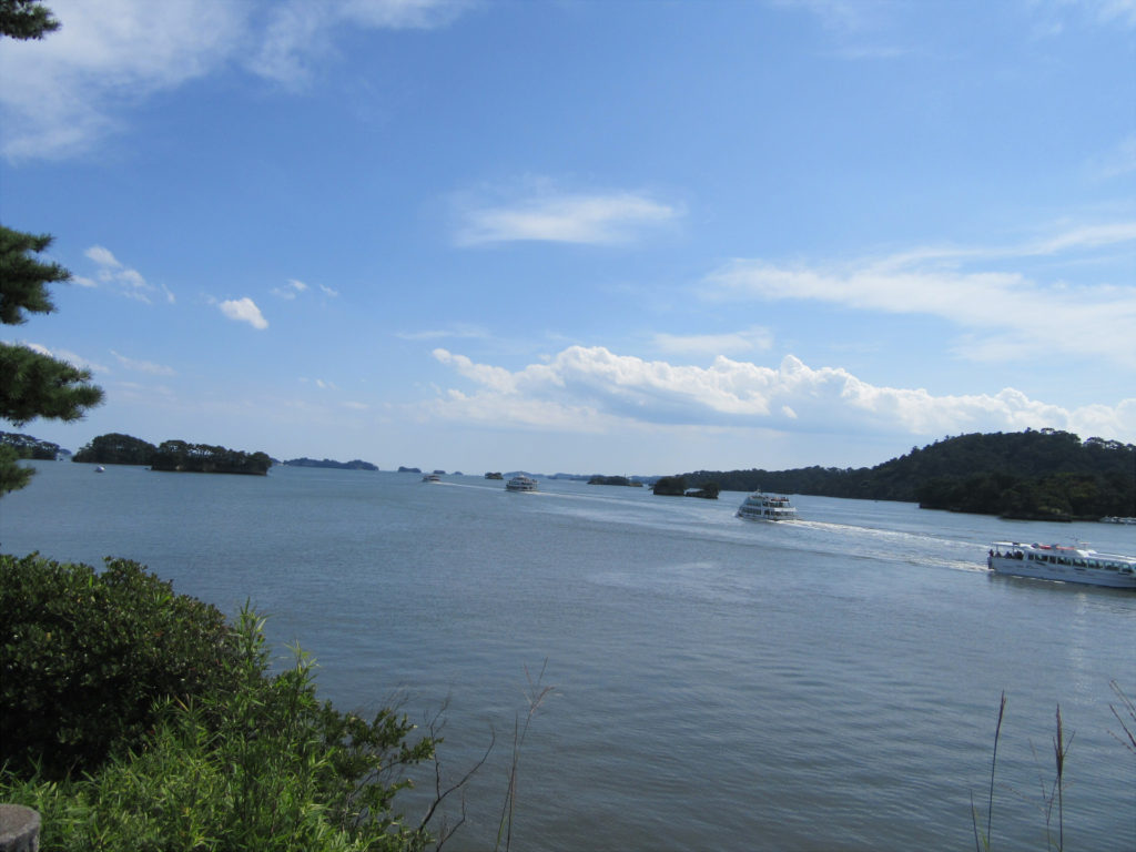 【画像】五大堂から観た松島の情景