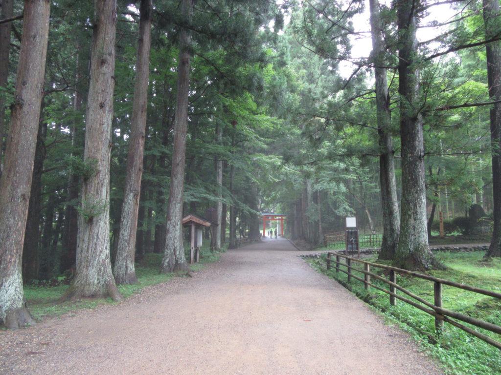 【画像】白山神社 参道