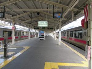 【画像】青森駅 JR線ホーム