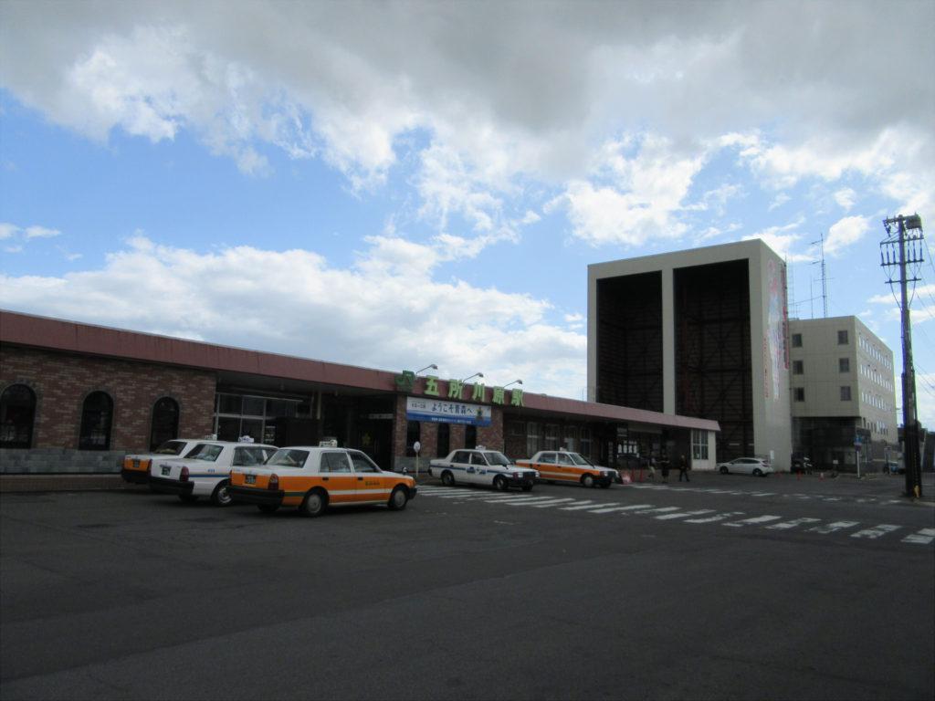 【画像】JR五所川原駅 駅舎