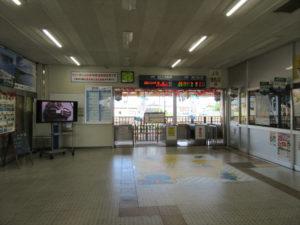 【画像】五所川原駅 改札口
