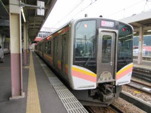 【画像】上越線(越後湯沢駅にて)