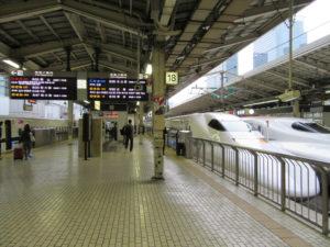 【画像】東京駅 東海道新幹線ホーム