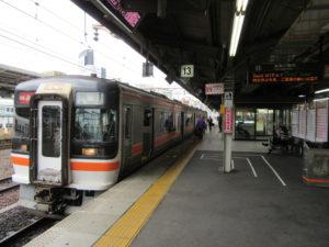 【画像】JR快速みえ 鳥羽行き(名古屋駅にて)
