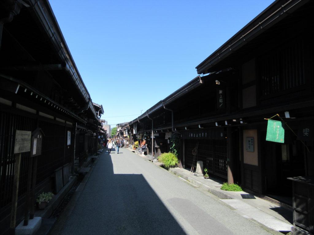 【画像】高山の古い町並み
