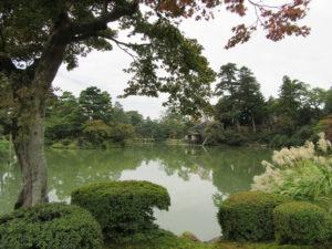 【画像】兼六園 霞ヶ池