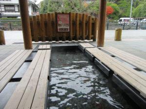 玉造温泉 姫神広場の足湯