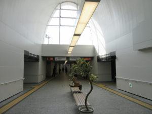 アストラムライン 新白島駅のホーム