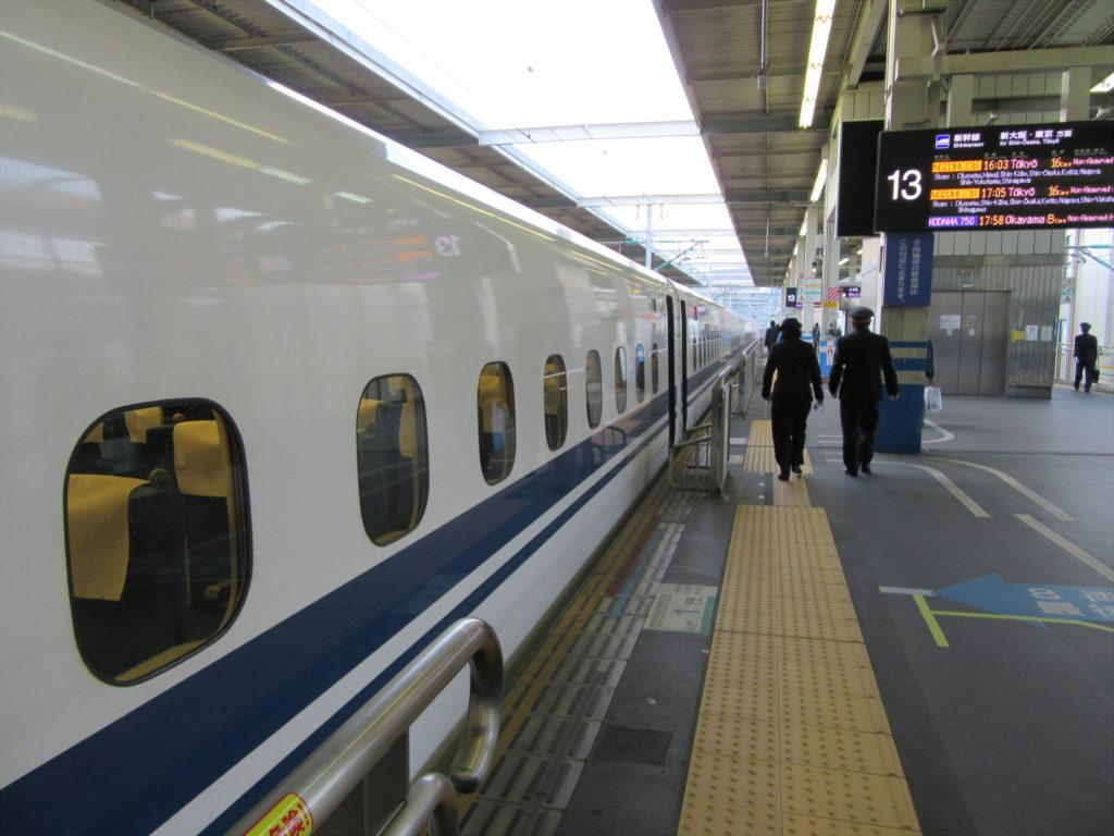 広島駅 新幹線ホーム