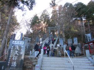 武蔵御嶽神社 参道