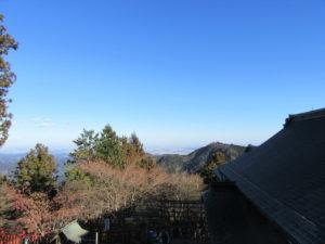 武蔵御嶽神社 境内から見渡した景色