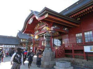 武蔵御嶽神社 参拝殿