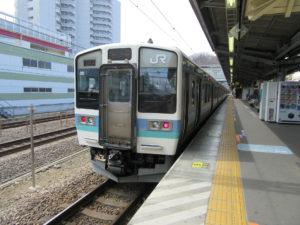 中央本線普通列車(高尾駅)