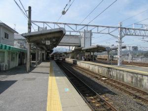 中津川駅ホーム