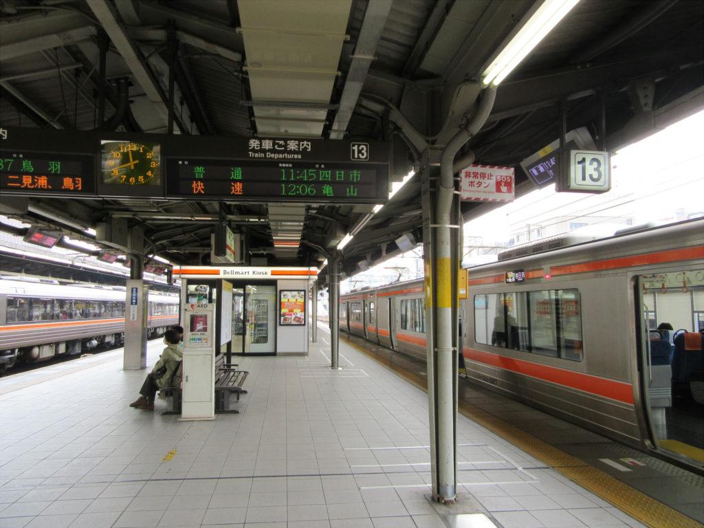 名古屋駅 関西本線ホーム