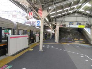 京橋駅 学研都市線ホーム