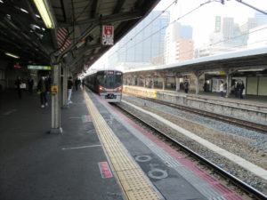 京橋駅 大阪環状線ホーム