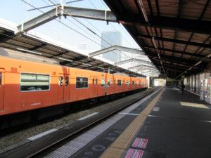 大阪城公園駅ホーム