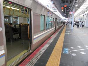東海道本線(京都線) 新快速(大阪駅にて)