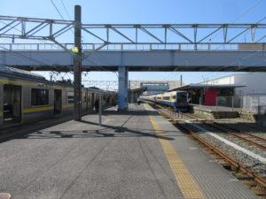 銚子駅 2・3番線乗り場