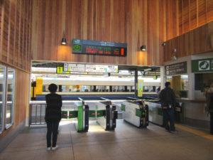 銚子駅 改札口