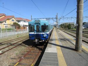 銚子電鉄乗り場