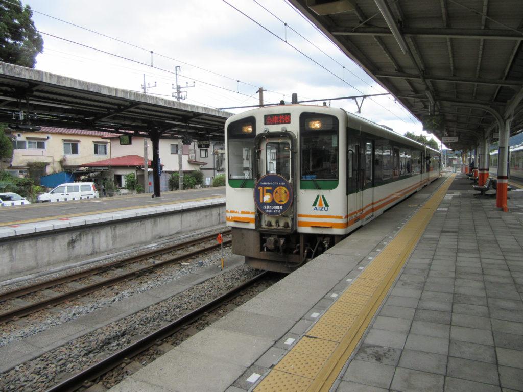 快速AIZUマウントエクスプレス・会津若松行き