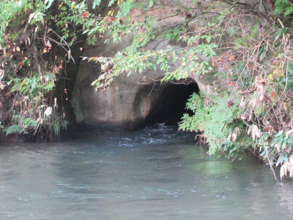 飯盛山 戸の口堰洞穴
