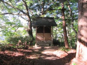羽黒山湯上神社 登山道途中