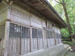 羽黒山湯上神社 本殿