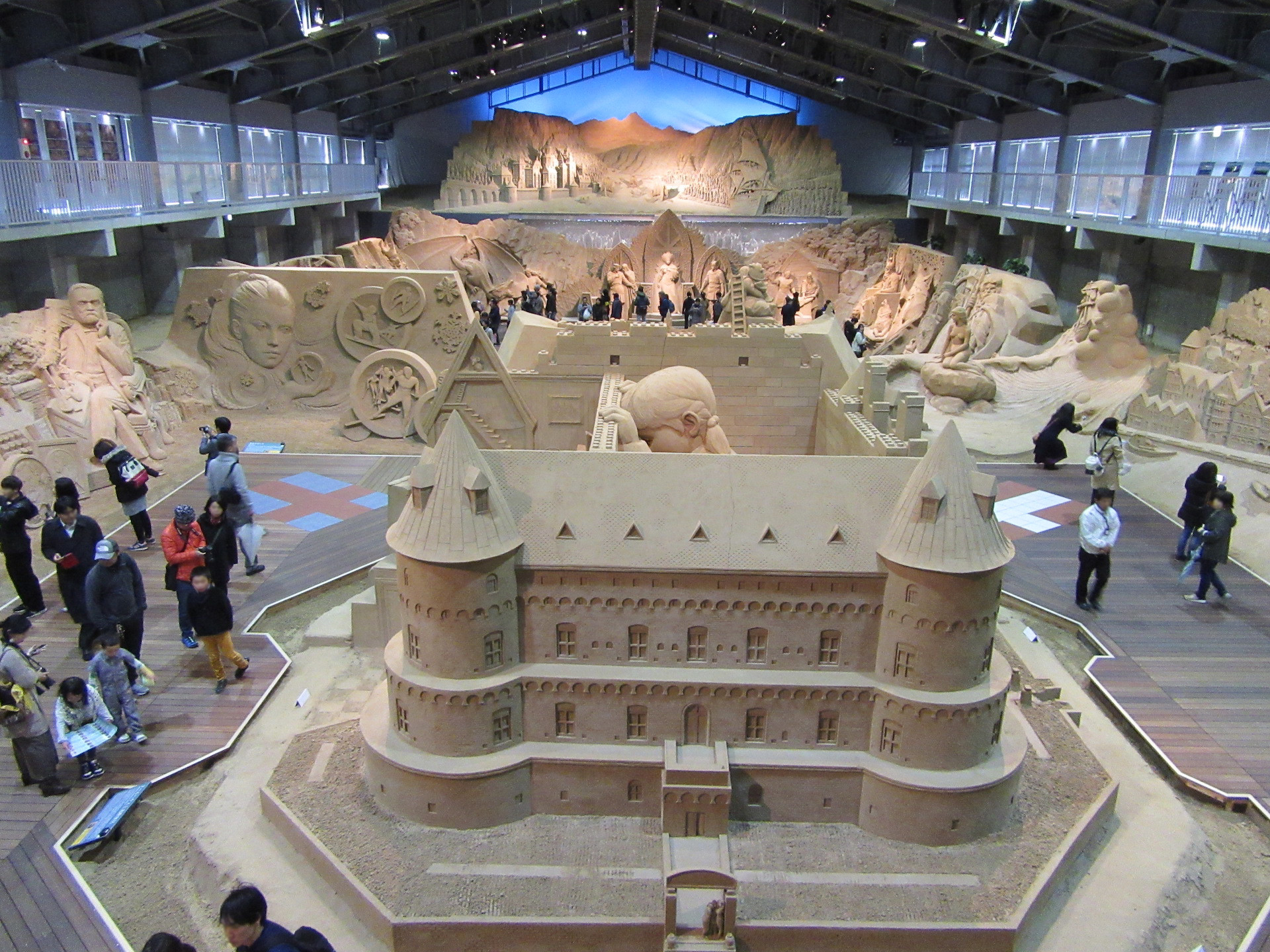 砂の美術館 館内