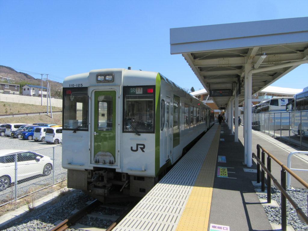 女川駅ホーム