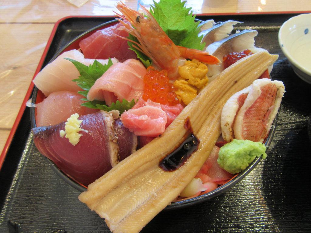 お魚いちば おかせい 特選女川丼