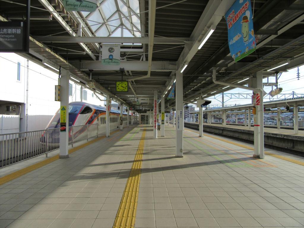 山形駅 新幹線ホーム