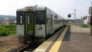 西米沢駅3